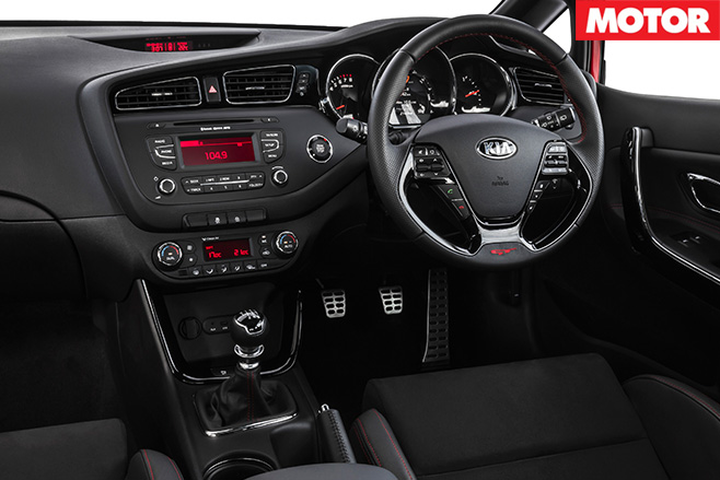 Kia ProCeed GT interior