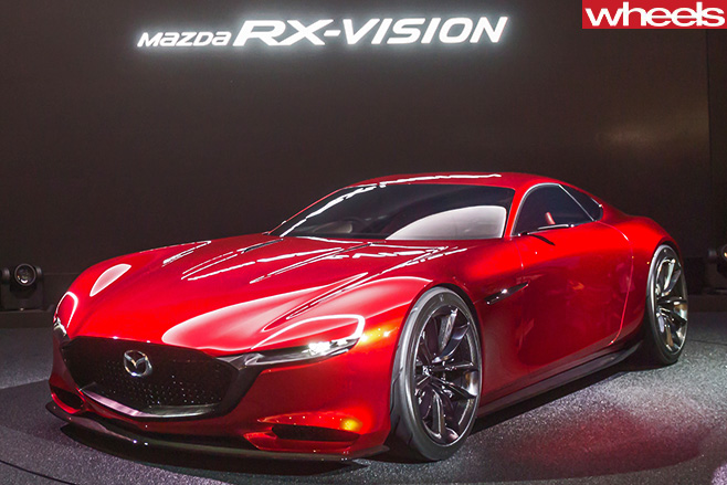 Mazda -R-Vision -Concept -front -side -profile
