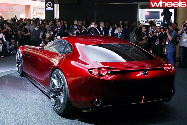 Mazda -R-Vision -Concept -rear