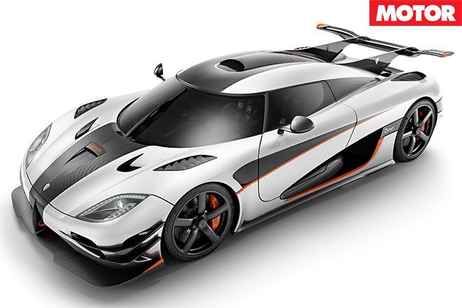Koenigsegg One 1 front