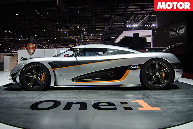 Koenigsegg One 1 real side