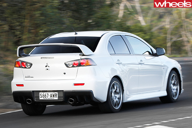 Mitsubishi -Lancer -Evolution -MR-rear
