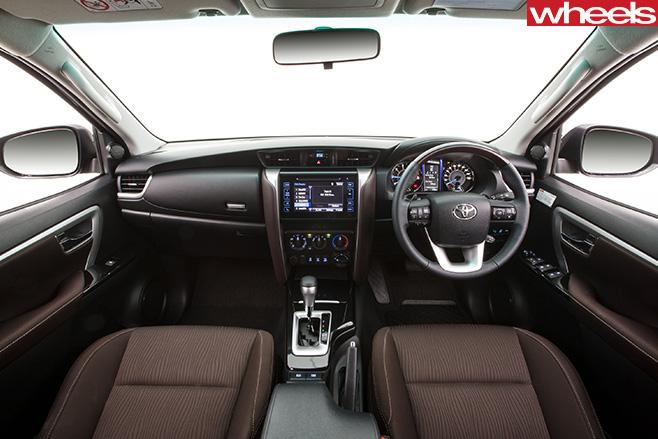 Toyota -Fortuner -interior