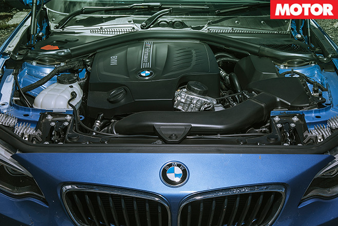 BMW M235i engine