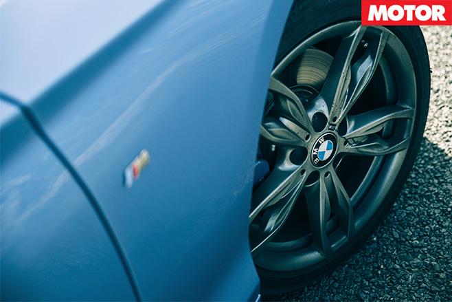 BMW M235i wheel