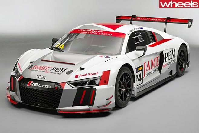 Audi -R8-LMS-Race -Car