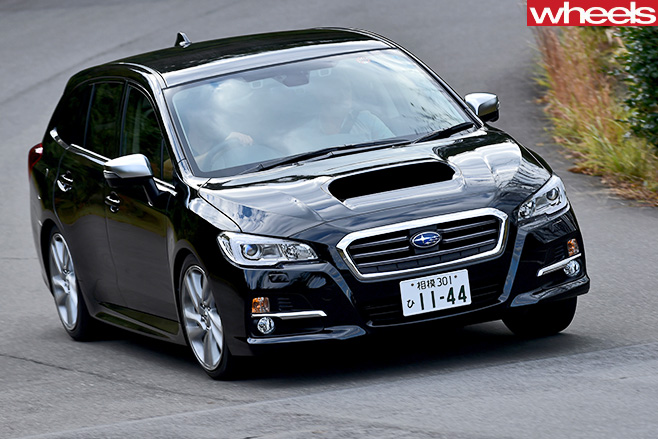 Subaru -Levorg -front -driving