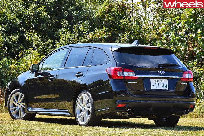 Subaru -Levorg -rear
