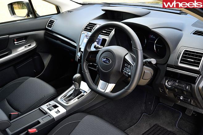 Subaru -Levorg -interior