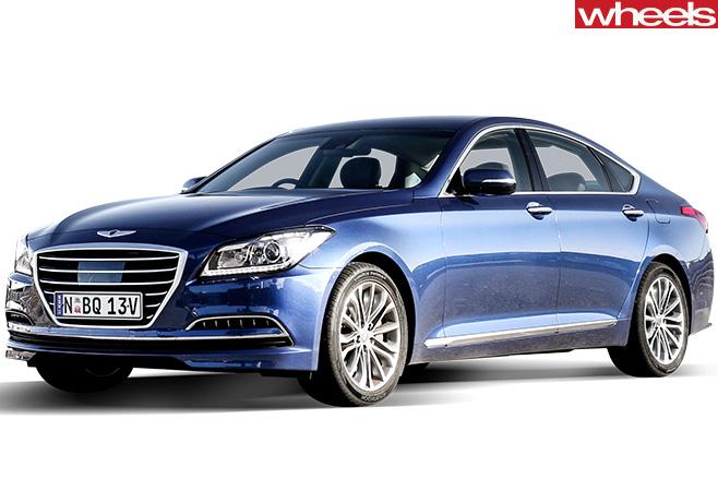 Hyundai -Genesis -front -side