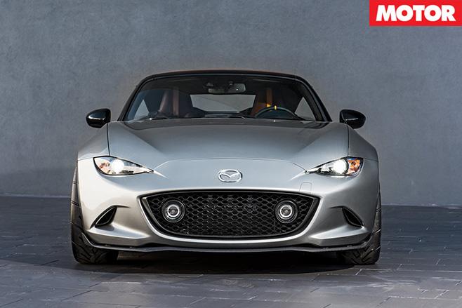 Mazda MX-5 Spyder front