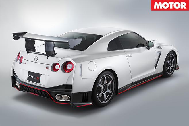 Nissan GT-R Nismo N Attack rear