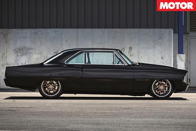 Chevrolet nova side
