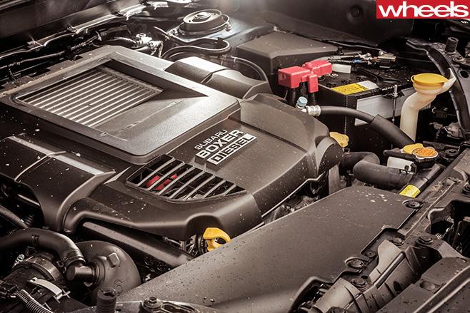 Subaru -Forester -Boxer -Diesel -Side