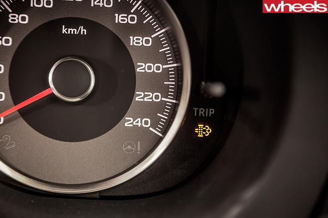 Subaru -Forester -dials