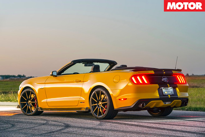 Sema Hennessey HPE750 Convertible rear