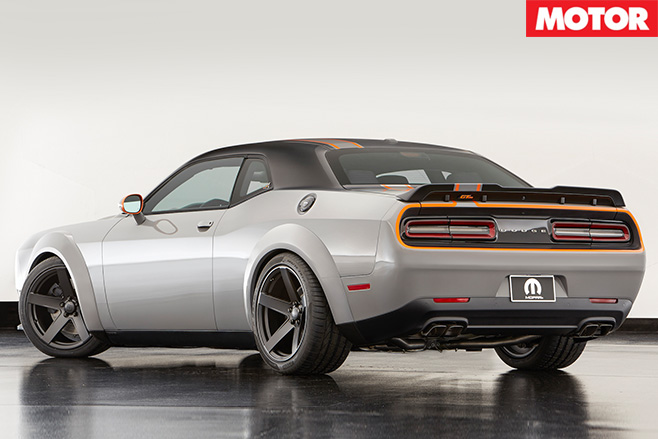 Dodge Challenger GT V8 AWD rear