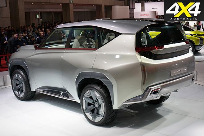 Mitsubishi pajero future rear