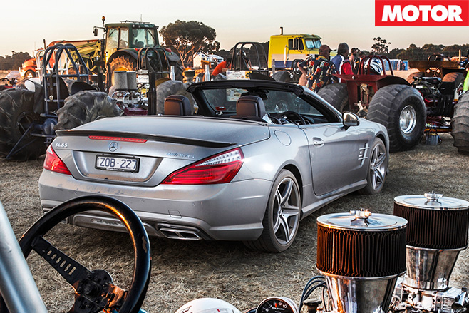 Mercedes Benz SL65 AMG rear