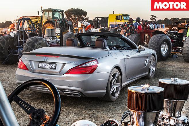 Mercedes Benz SL65 AMG rear