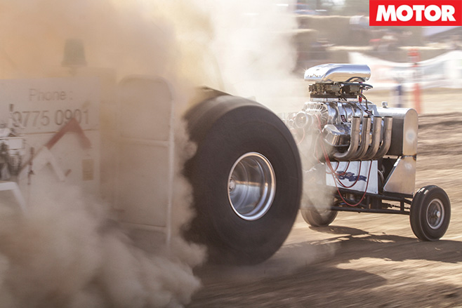 Tractor -pulling
