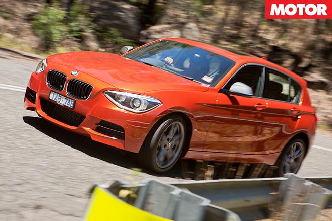 BMW-M135i -front