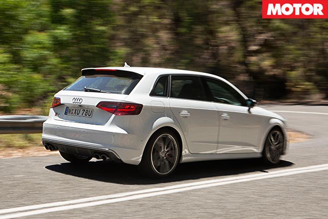 Audi S3 Sportback rear