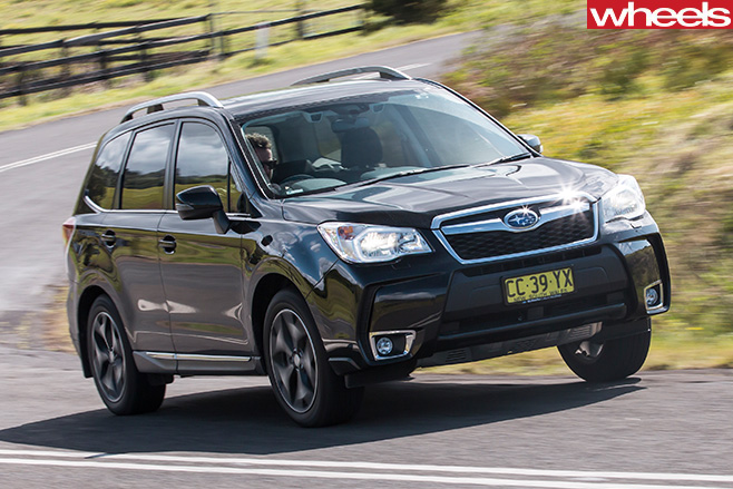 Subaru Forester XT front