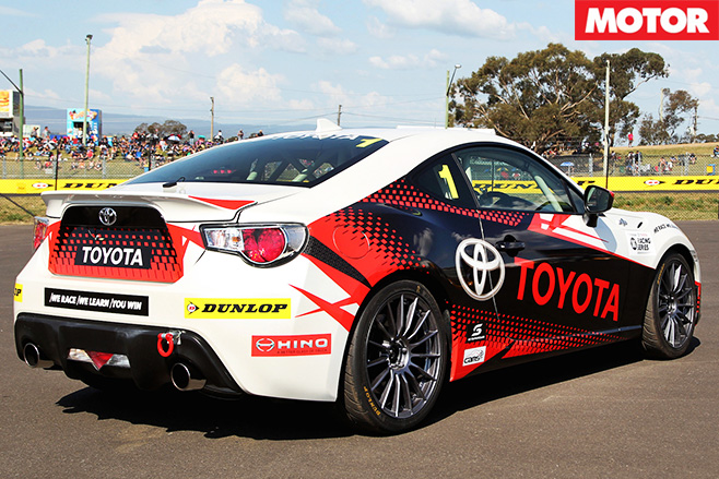 Toyota 86 heading to Bathurst in new racing series rear