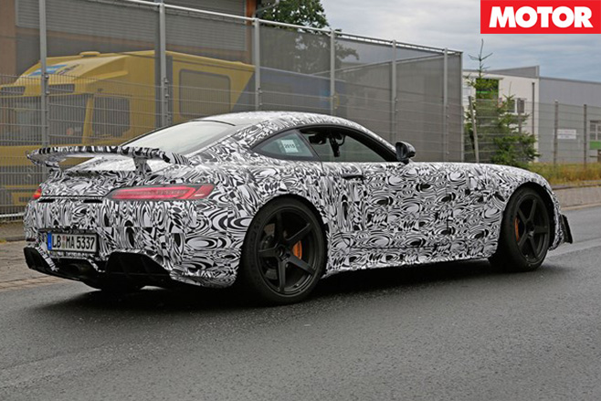 Hotter Mercedes AMG GT due in 2016 rear
