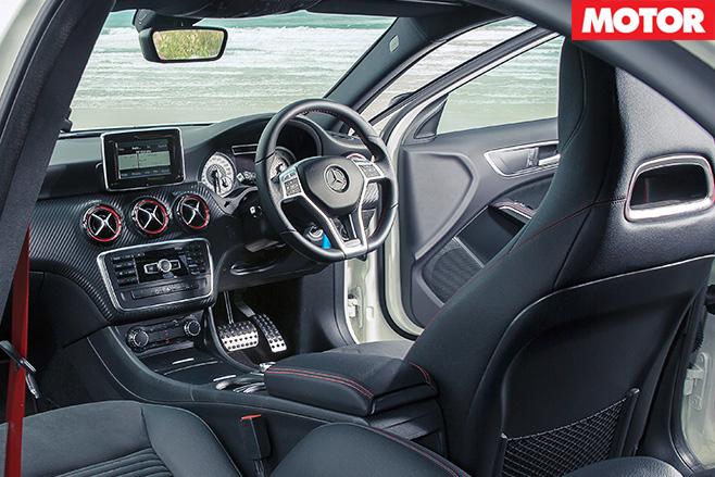 Mercedes benz a250 sport interior