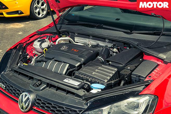 Volkswagen golf gti engine