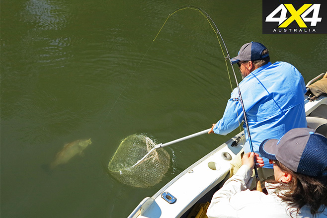 Tight Lines How to use a landing net 1
