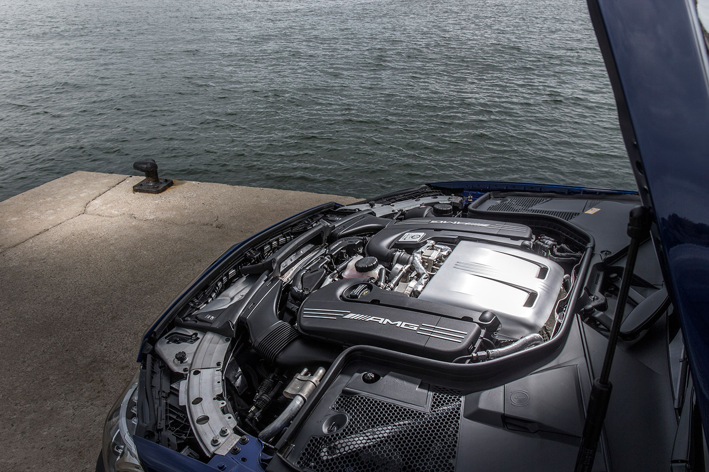 Mercedes -AMG-C63-S-Coupe -engine