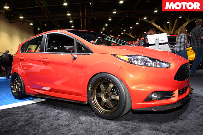 400 hp DSport Ford Fiesta ST