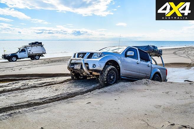 Moreton island fishing four wheel driving