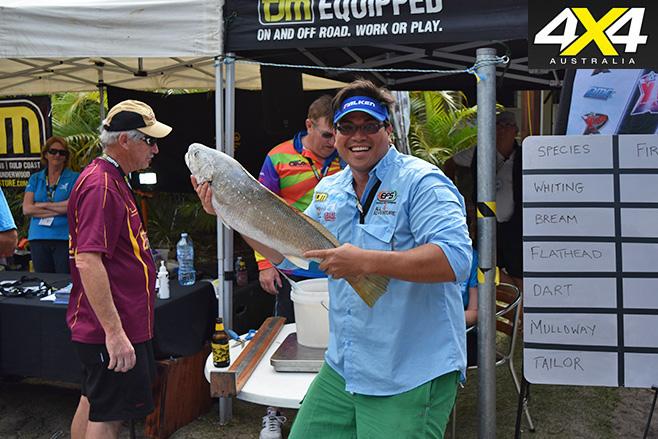 Moreton island fishing classic fishing catch