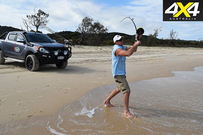 Moreton island fishing classic fishing