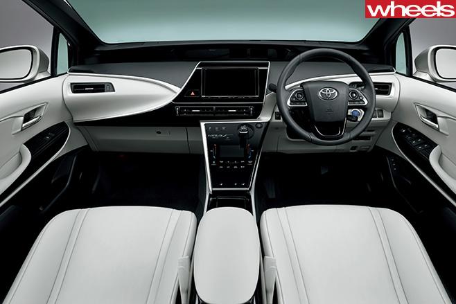 Toyota -Mirai -interior