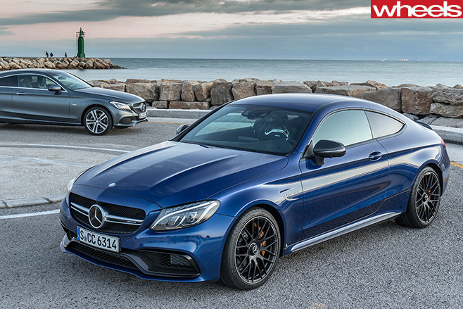 Mercedes -C63-Amg -Coupe