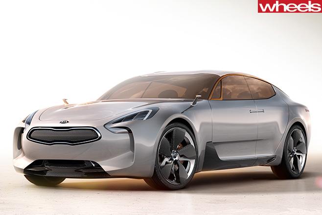 Kia -GT-Concept -Car -front -side