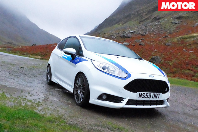 M-sport tuned ford fiesta st front