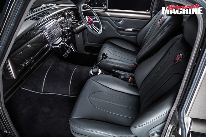 Down Town Kustoms FC-ute interior