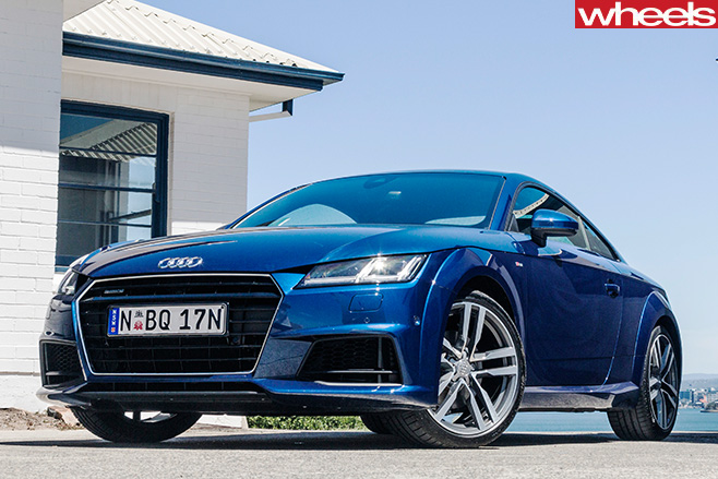 Audi -TT--front