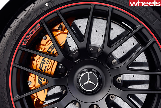 Mercedes -AMG-Wheel -with -brake -caliper