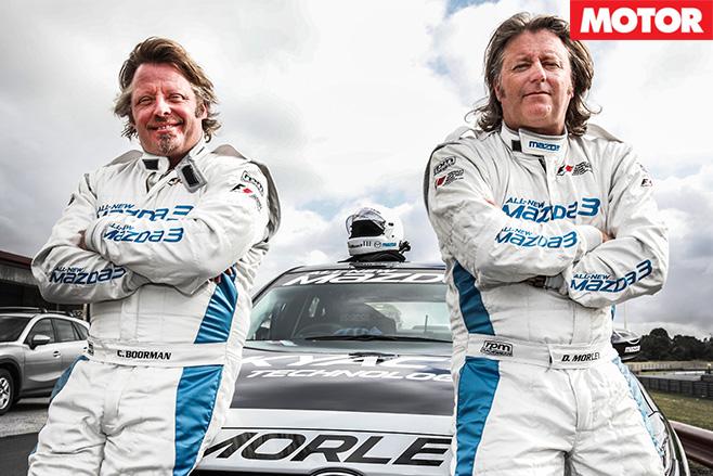 Mazda celebrity race 1