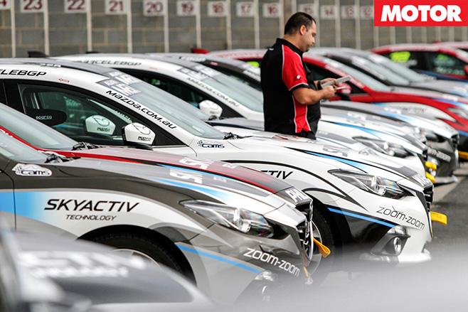 Mazda celebrity race 6