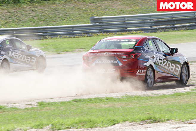 Mazda celebrity race 8