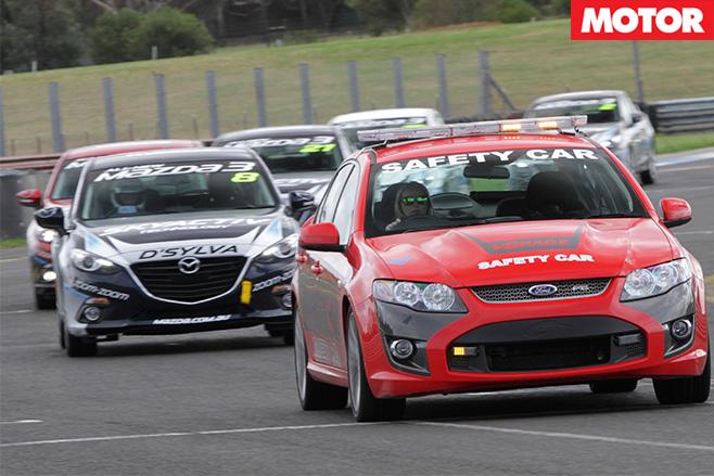 Mazda celebrity race 11