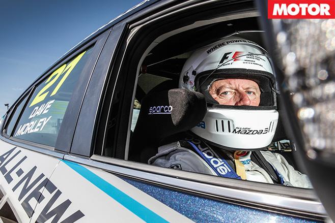 Mazda -celebrity -race -3